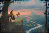 Disney Fine Art Limited Edition Canvas Our Royal Kingdom-Cinderella- Rob Kaz