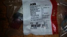 ONE ABB SELECTOR SWITCH 1SFA611201R1101  M2SS2-11R TWIST KNOB
