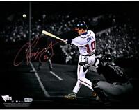"Chipper Jones Atlanta Braves Autographed 11"" x 14"" Spotlight Photograph"