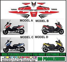 kit adesivi stickers compatibili tmax 2001 2007 50 wgp anniversary 2011