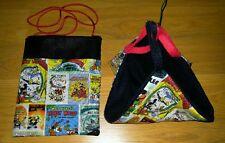 (Mickey Mouse Comics!) Sugar Glider Bonding Pouch & Sleeping Hammock!