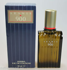 Aramis 900 Herbal Eau de Cologne  50 ml Vintage - Version , 1. Duft! Neu / OVP