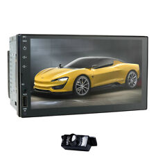 "Android 9.0 Double 2DIN Stereo Car MP4 MP5 Player 7""Touchscreen Radio+Backup Cam"