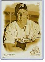 Jose Canseco 2019 Allen and Ginter 5x7 Gold #95 /10 Devil Rays