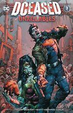 DCeased Unkillables #1-3   Main & Variants Horror   DC Comics 2020 NM