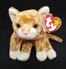 TY 1999 AMBER the CAT BEANIE BABY - MINT with MINT TAGS