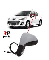FOR PEUGEOT 207 06-12 NEW WING MIRROR MANUAL PRIMED WITH INDICATOR LEFT LHD