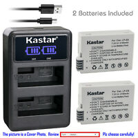 Kastar LP-E8 LPE8 Battery Charger for Canon EOS 550D EOS 600D EOS 700D Camera