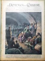 La Domenica del Corriere 11 Ottobre 1936 Ermete Zacconi Valcarenghi Duce Etiopia