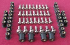DUCATI ST4S ST4 ST2 fairing,screen, rubber nut and stainless steel screw kit -D6