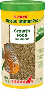 Sera Discus ImmunPro Nature 440g / 1000ml Growth Food Probiotics for Discus Fish