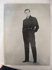 Programme de Concert Yves Montand Théâtre de l'Etoile 1958 Castella Balta Perier