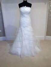 Pronovias Fortuna Abito da sposa/abito da sposa in bianco sporco, Taglia 14