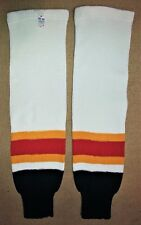 Hockey Sock Lot - White,Navy/Red/Gold - 12 pair - NEW - Size Large 32""