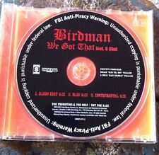 "Birdman ""we got that"" cd promo Young Money CaSh Money DRAKE lil Wayne niki minaj"