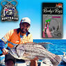 4 Snapper Rigs Flasher Rig Bottom Reef Fishing Paternoster Hook  80lb Line