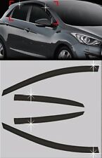 Window Smoke Visor Vent Rain Guard 4pcs For 2012 13 14 15 16 HYUNDAI ELANTRA GT