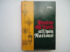 Praise The Lord All You Nations Sister Virginia Marie Vytell Signed 1976
