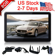 "EQUICK 5"" TouchScreen GPS Navigation System Navigator SAT NAV 8GB Lifetime Maps"