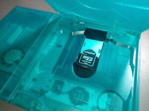 PS2 Slim | GREEN GHOST CASE | SD Card Slot Mod HDD Playstation 2 Region Free