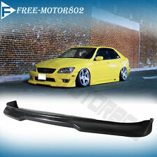 FOR 01-05 LEXUS IS300 SEDAN FRONT BUMPER LIP SPOILER BODYKIT GR STYLE URETHANE