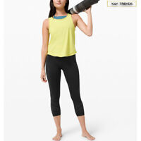 "Lululemon Women's  Bold Move High-Rise Crop Tight 20"" Asia Fit-Black"