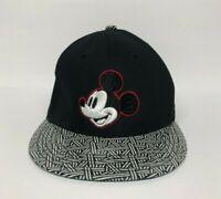 Disney Mickey Mouse Baseball Hat Cap Adjustable Snapback Disney Store Black