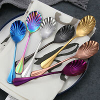 Stainless Steel Dessert Sundae Spoons Latte Long Tea Coffee Soda Ice Cream Spoon
