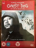 Ghost Dog the Way of the Samurai DVD Cult Film Movie Classic w/ Forest Whitaker