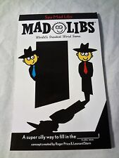 Spy Mad Libs 2015 Loot Crate Exclusive Worlds greatest word game RARE LEARNING