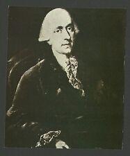 Franz Ludwig Schenk von Castel Detective Vintage German Collector Card