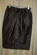 Silk Above Knee Dry-clean Only Skirts for Women