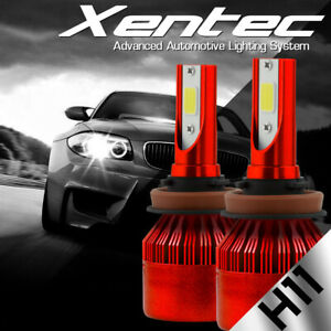 H11 LED Car Headlight Conversion Kit Low Beam Bulbs 38800LM 6500K White 388W