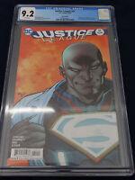 Justice League #51 Recalled Error Direct Edition 3.99 Rare DC Comic CGC 9.2