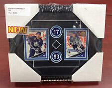 "Framed Sports Art: Toronto Maple Leafs - Clark / Gilmour, 8"" x 10"" Wood Framed"