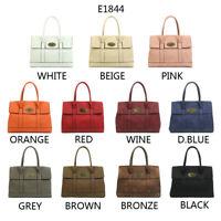 Women's Designer Boutique Top Handle Medium Tote Bag Shoulder Bag E-1844