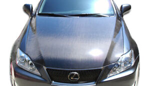 06-13 Lexus IS 4DR OEM Carbon Fiber Creations Body Kit- Hood!!! 103410