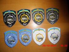 POLICE PATCH UKRAINE - CSI  unit (lot 8 patches)  ORIGINAL!