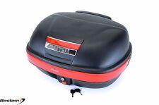 Suzuki Burgman 650/400 Scooter T-box Top Box Case Backrest Trunk MATTE BLACK
