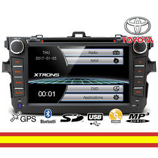 Autorradio para Toyota Corolla CD DVD GPS Bluetooth MP3 USB SD Soporta Mirroring