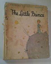 The Little Prince - Antoine De Saint Exupery - 1943 HCDJ Harcourt Brace World