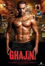 GHAJINI Movie POSTER 11x17 India C Aamir Khan Tinnu Anand Asin Vibha Chhibber