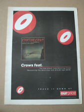 COUNTING CROWS - RECOVERING THE SATELLITES 1996 - MUSIC ADVERT POSTER 15 X 11 IN