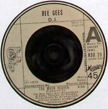 "Bee GEES ~ troppo IL PARADISO/Rest Your Love On Me ~ 1978 UK PROMO D.J. 7"" singolo"