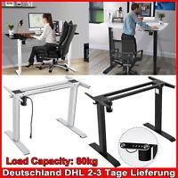 Schreibtischgestell elektrisch höhenverstellbar Tischgestell Arbeitstisch Hot
