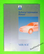 1997 Mitsubishi Mirage Technical Information Service Manual Book