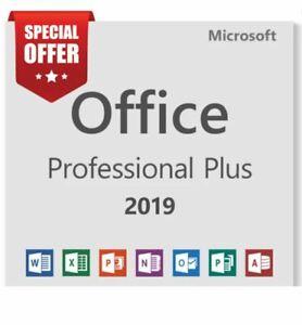 Microsoft Office 2019 Prоfеѕѕiоnаl Plus 2019 Key ❗Read Description❗