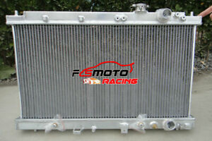 Aluminum Radiator FOR Honda Integra Acura DC2 B18 GSR RS LS 1994-2001 00 99