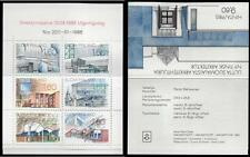 FINLAND MNH 1986 Modern Architecture Booklet