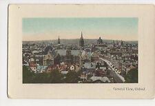 General View Oxford Postcard, A855